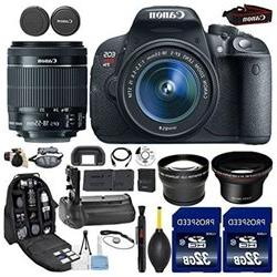 Canon EOS Rebel T5i DSLR Camera with 18 55mm IS STM Lens Kit