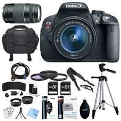 Canon EOS Rebel T5i 18MP SLR Digital Camera + EF-S 18-55mm I