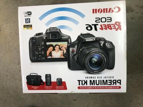 eos rebel t6 digital slr camera premium