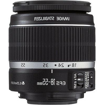 Canon EOS Rebel DSLR Canon 18-55mm IS - Ultimate Saving Bundle