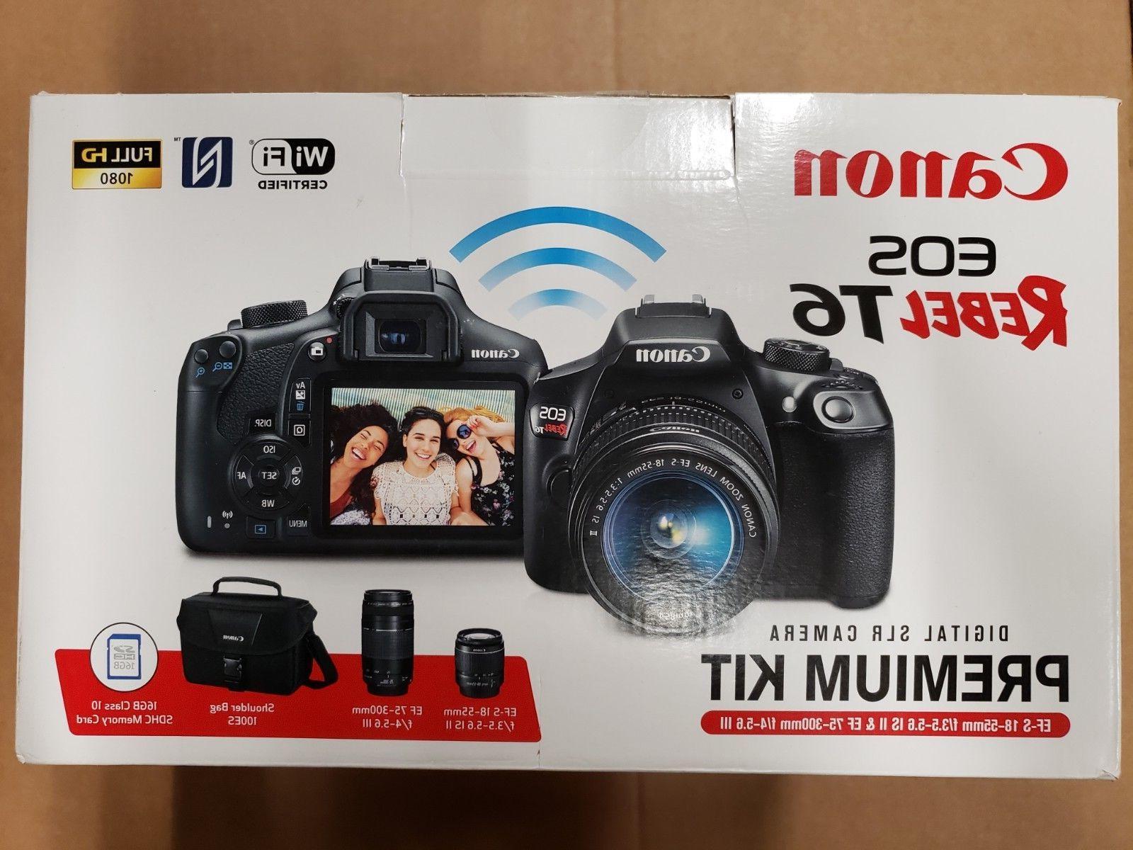 Canon DSLR Camera Kit: + 75-300mm