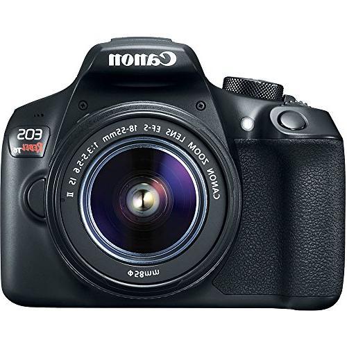 Canon DSLR w/ EF-S 18-55mm II Kit