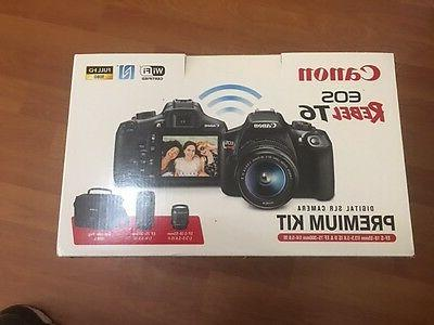 Canon Camera with 18 - 55 mm 3 - 16:9 3.1x Optical Zoom - Image - 1920 1080 - Movie Wireless LAN