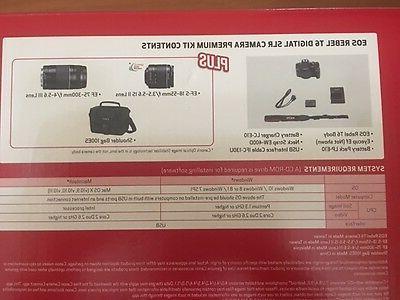 Canon 18 Megapixel SLR Camera 18 mm - 3 - 16:9 Optical - TTL - Image 1080 Video - Movie Mode LAN