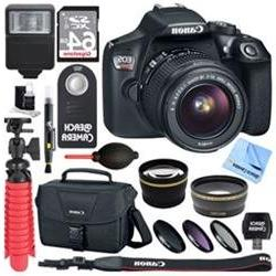Canon EOS Rebel T6 Digital SLR Camera with EF-S 18-55mm IS I