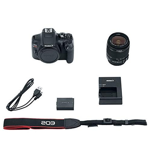 Canon Rebel T6 DSLR 18MP Camera EF-S Lens 500mm Lens Filter Memory Card Gadget Bag Slave + Remote Complete