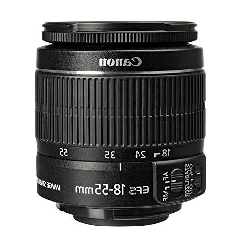 Canon 18 55mm EF S f 3.5 5.6 IS II Lens Angle Lens