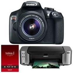 Canon EOS Rebel T6 Digital SLR Camera w/ EF-S 18-55mm IS II