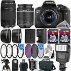 Canon EOS Rebel T6i / 750D 24.2 MP DSLR Camera + 18-55mm STM