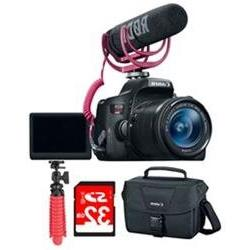 Canon EOS Rebel T6i Video Creator Kit w/ Lens, Rode Video Mi