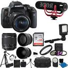 Canon EOS Rebel T6i Video Creator Kit + 18-55mm Lens + 32GB