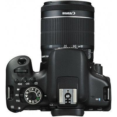 Canon Rebel DSLR with EF-S 18-55mm Lens
