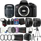 Canon EOS Rebel T6i DSLR Camera with 18-55mm Lens and Top Ac