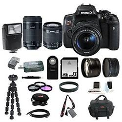 Canon EOS Rebel T6i Digital SLR with EF S 18 55mm f 3.5 5.6