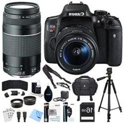 Canon EOS Rebel T6i Digital SLR Camera Kit with EF-S 18-55mm