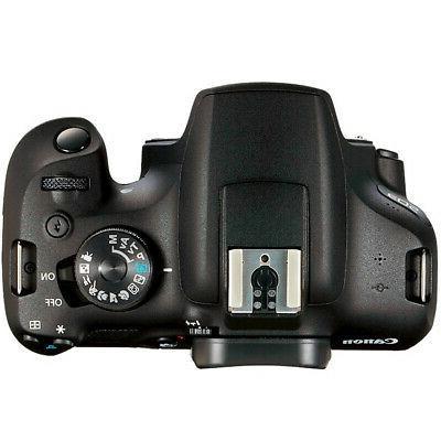 Canon EOS Rebel DSLR IS II + 75-300mm III Double
