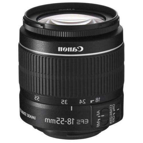 Canon EOS Rebel T7 DSLR Camera Lens Kit