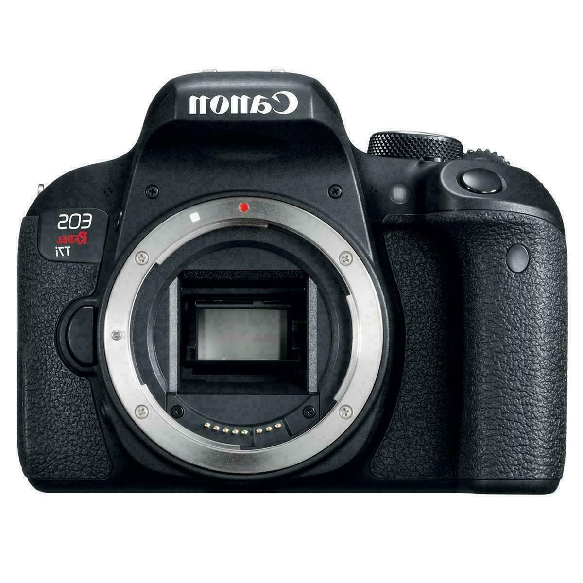 Canon Rebel 24MP Camera-EF-S IS STM