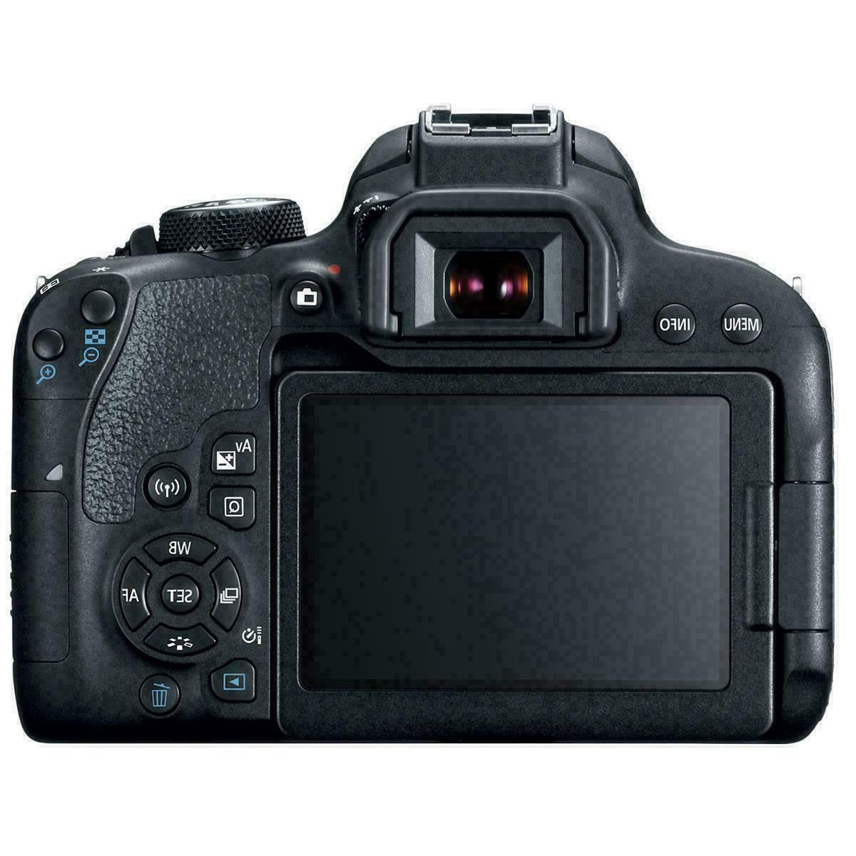 Canon EOS 24MP DSLR Camera-EF-S 18-135 IS STM
