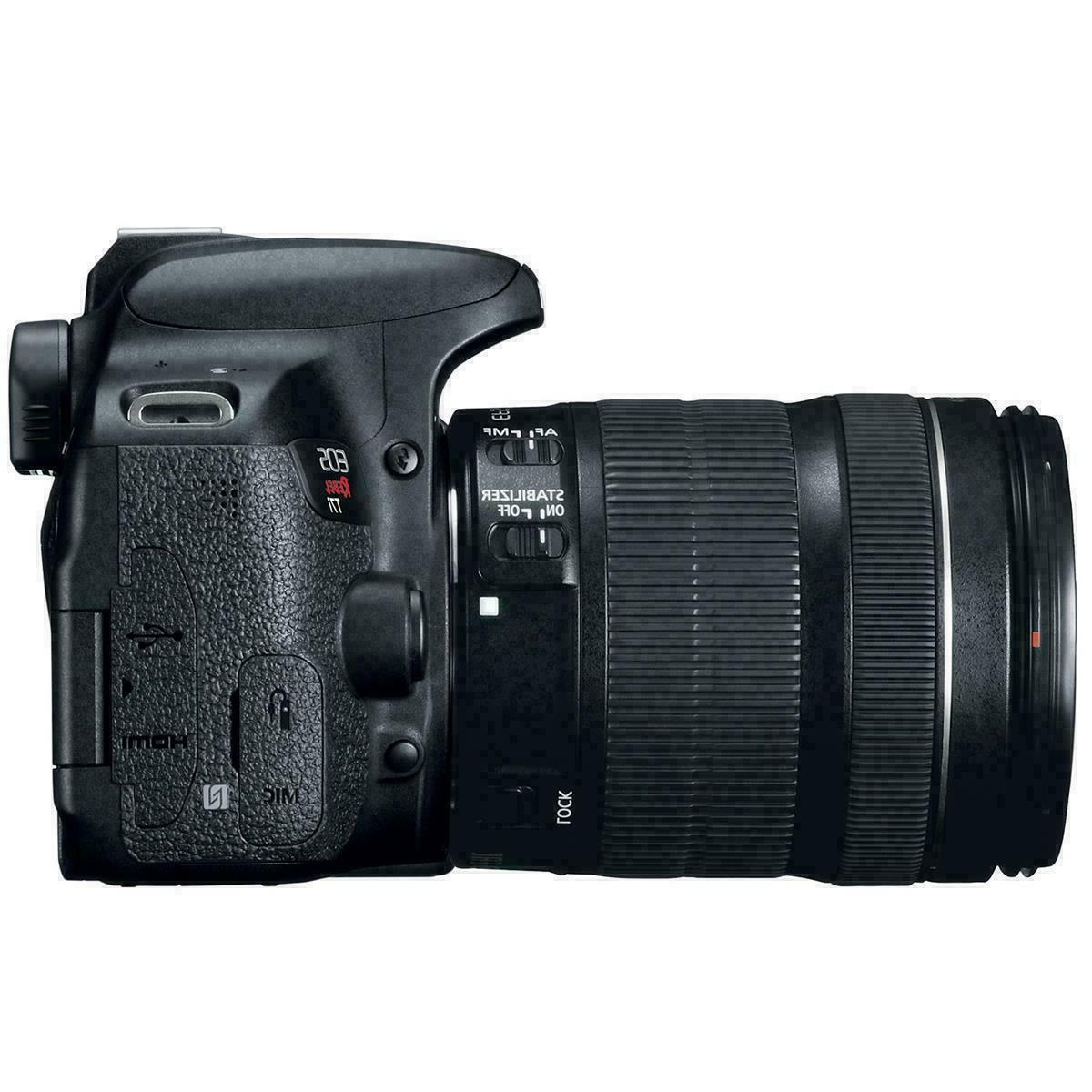 Canon Rebel T7i 24MP DSLR IS STM Kit-HD-WiFi/NFC-NIB