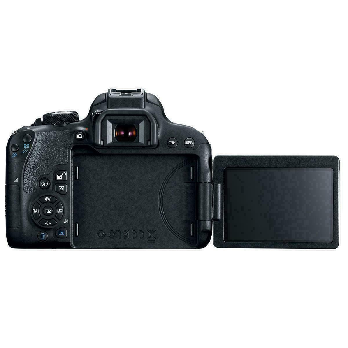 Canon 24MP DSLR IS Lens Kit-HD-WiFi/NFC-NIB