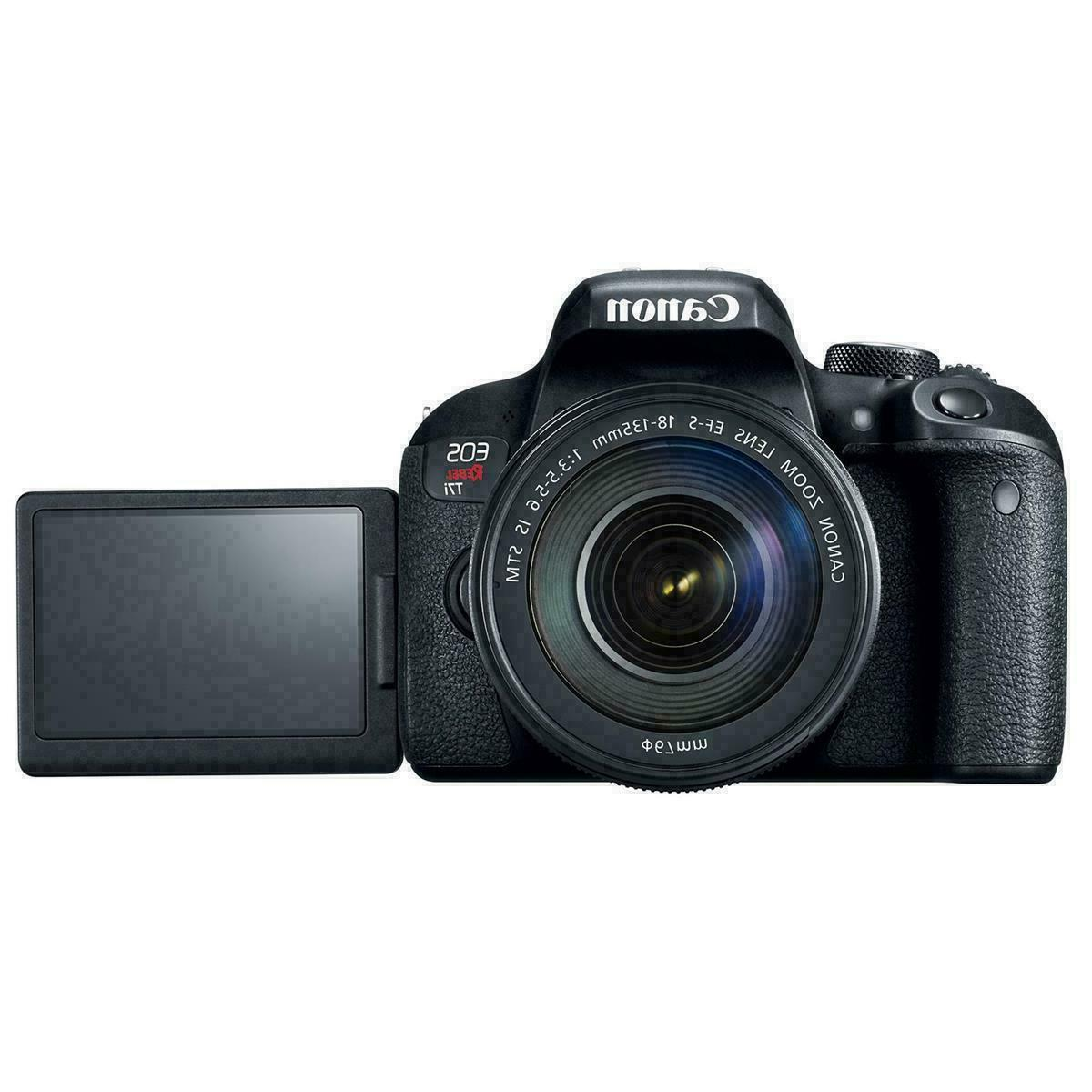 Canon EOS T7i 24MP IS Kit-HD-WiFi/NFC-NIB