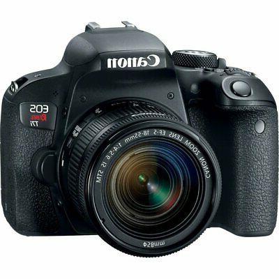 Canon DSLR Camera Accessory Includes 18-55mm Memory