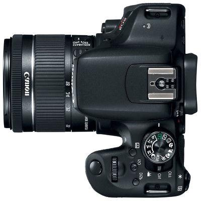 Canon Rebel DSLR Camera w/ 18-55mm & Lenses + 64GB