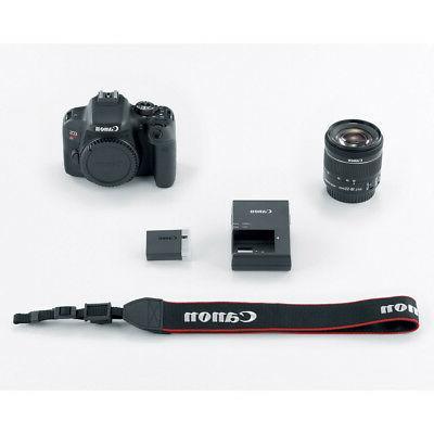 Canon EOS DSLR Camera EF-S 18-55mm EF Lenses