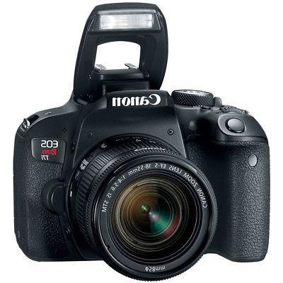 Canon DSLR 18-55mm & 75-300mm Lenses