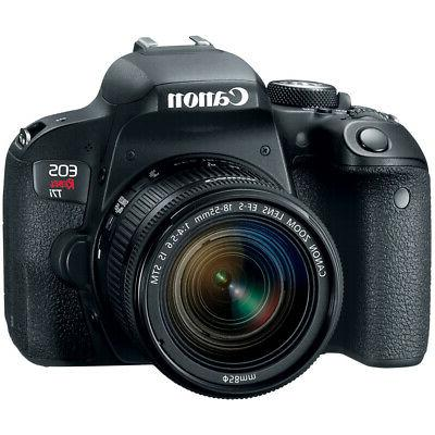 Canon DSLR EF-S IS STM x2 Bundle