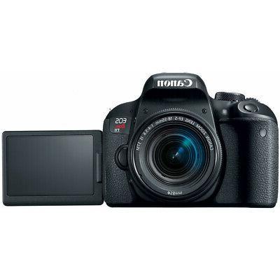 Canon T7i Rebel DSLR IS Lens x2 Bundle