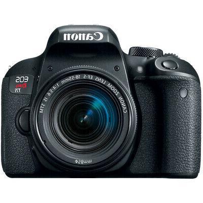 Canon Rebel DSLR Camera EF-S 18-55mm IS Lens 32GB x2 Bundle