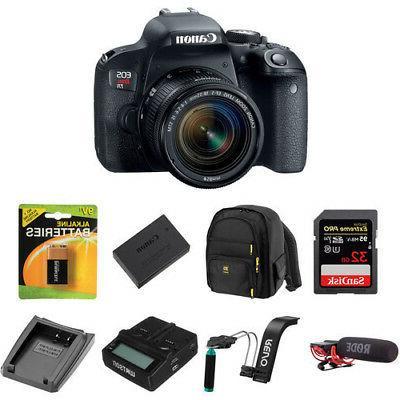 Canon EOS DSLR Camera Lens - Black
