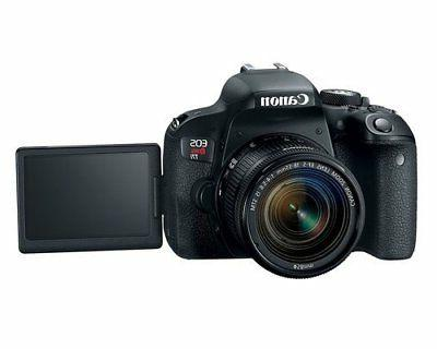 Canon DSLR with Lens Black