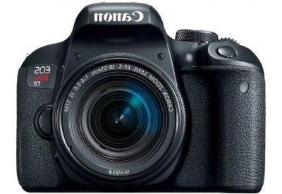 Canon EOS Rebel T7i DSLR Camera with 18-55mm Lens - Black