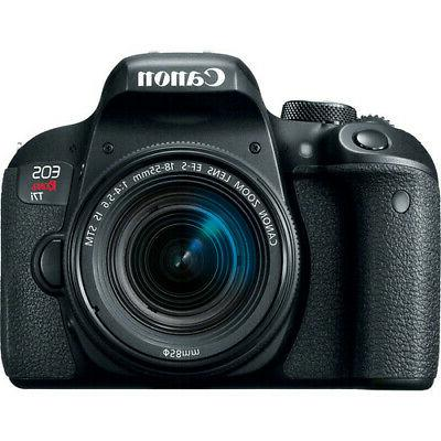 Canon EOS Rebel T7i DSLR Camera with 18-55mm Lens BRAND NEW