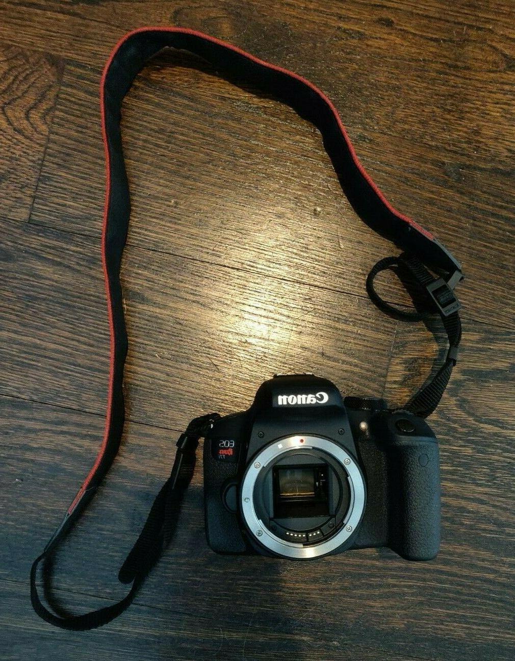 Canon T7i EF-S f/3.5-5.6 IS STM Lens