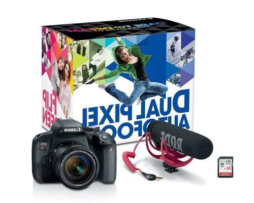 eos rebel t7i slr w