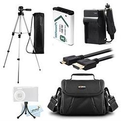 Essential Accessories Kit For Sony HDR-CX240, HDR-PJ275, HDR
