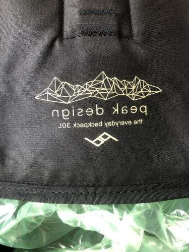 Peak Everyday Backpack 30L Black DSLR Camera Bag Drone