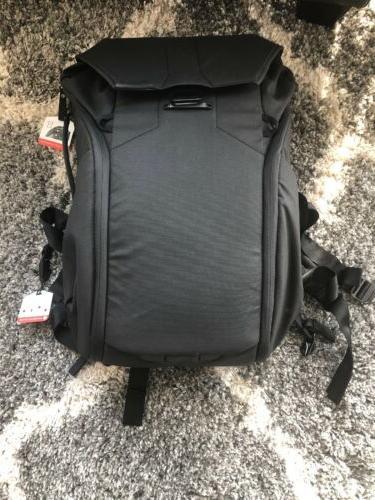 everyday backpack 30l black dslr camera bag