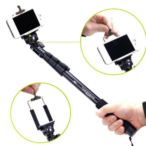 extendable monopod selfie stick handheld for iphone