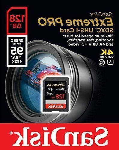 SanDisk up UHS-I/U3 SDXC Flash NEW!