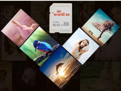 EZ Wifi Card 32GB 64GB Class10 SDHC Flash