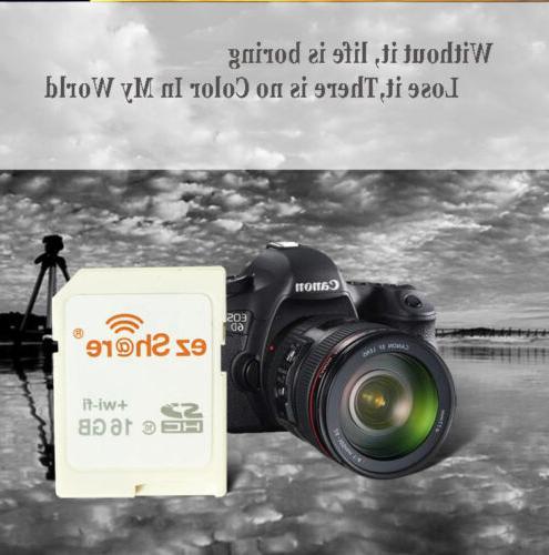EZ Share Card 64GB SDHC Memory SD