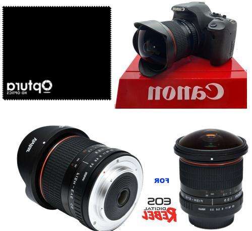 Vivitar 8mm f/3.5 F3.5 Fisheye Lens for Nikon Digital SLR Ca