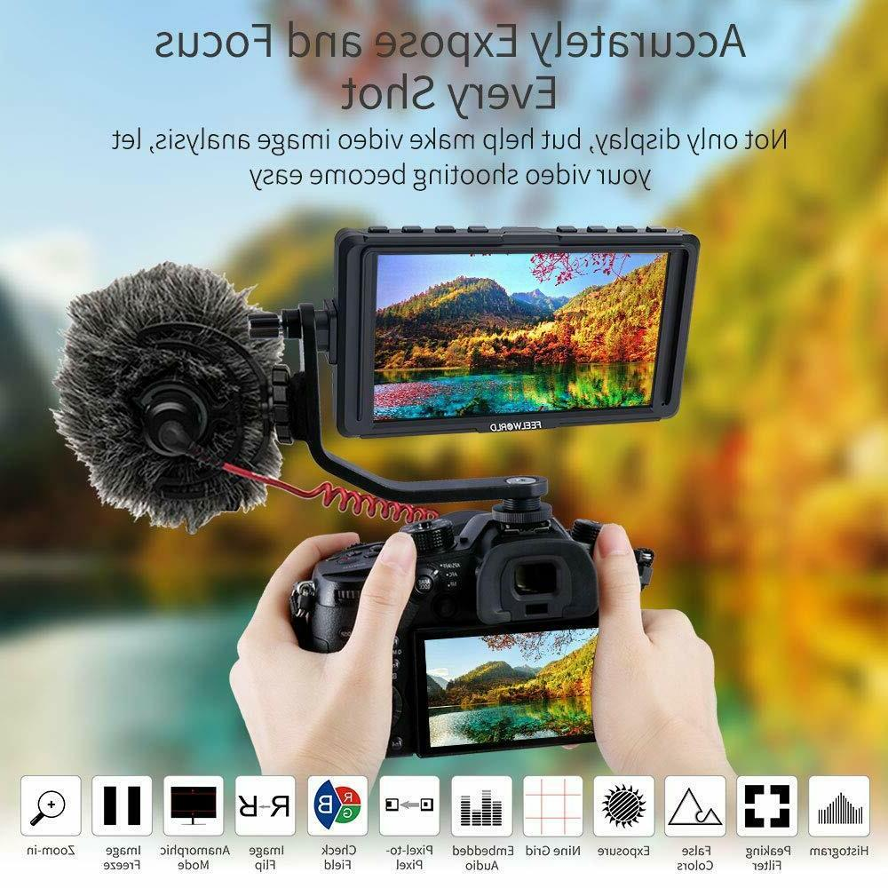 Feelworld F5 DSLR Camera Field Small Full 4K
