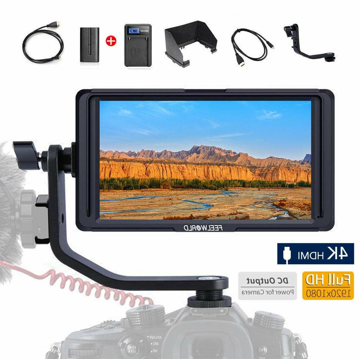 f5 5 inch dslr camera field monitor