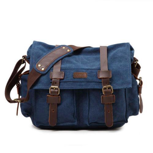 Fashion Canvas DSLR SLR Camera Shoulder Bag